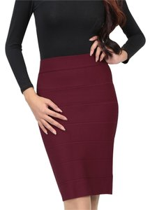 Romeo & Juliet Couture Pencil Skirt oxblood