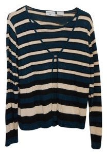 Kathy Ireland Striped Sweater