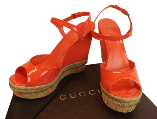 Preload https://item3.tradesy.com/images/gucci-begonia-pink-hollie-patent-leather-cork-sandals-40-wedges-size-us-10-regular-m-b-4057912-0-0.jpg?width=440&height=440