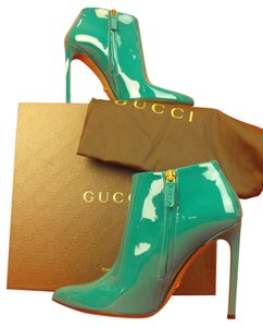 Gucci Spring Water/Green Boots