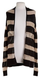 Rachel Roy Stripes Brown And Beige Blazer