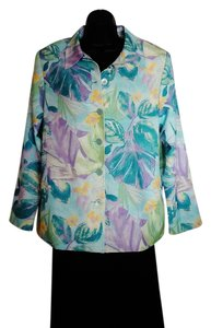 TanJay Pastel Multi Color Floral Jacket
