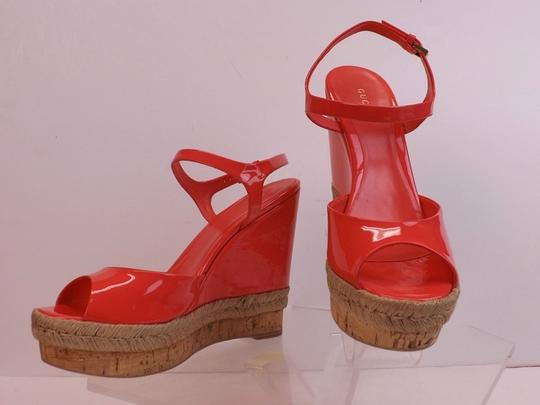 Gucci Begonia Pink Wedges