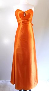 Venus Bridal Orange Bella Bridesmaid Style D486 Dress