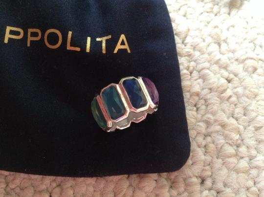 Ippolita Rock Candy Sterling Silver Wonderland Brick Ring