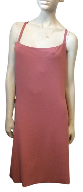 Preload https://item2.tradesy.com/images/narciso-rodriguez-rose-jersey-mid-length-short-casual-dress-size-12-l-4058686-0-0.jpg?width=400&height=650
