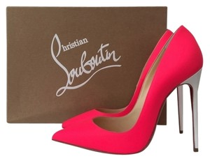 Christian Louboutin So Kate 120mm Neon Pink Pumps