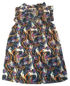 Collective Concepts Sexy Work Work Sleeveless Top Floral