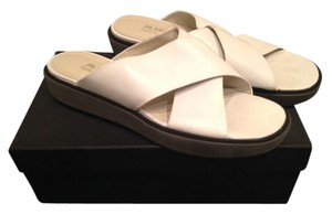 Jil Sander 40 Navy white Sandals