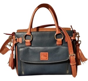 Dooney & Bourke Satchel in Dark Turquoise