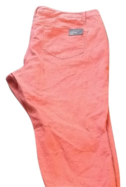 Preload https://item4.tradesy.com/images/nine-west-coral-coated-cigarette-fit-skinny-jeans-size-18-xl-plus-0x-405973-0-1.jpg?width=400&height=650