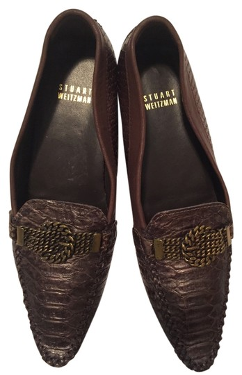 Preload https://item3.tradesy.com/images/stuart-weitzman-brown-gold-with-gold-hardware-flats-4060147-0-0.jpg?width=440&height=440