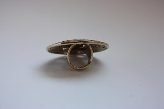 Low Luv x Erin Wasson Low Luv x Erin Wasson Gold-Tone Evil Eye Cut Out Dome Ring