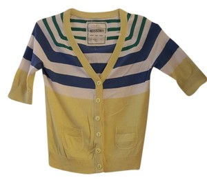 Mossimo Supply Co. Cotton Stripes Cardigan