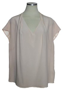Ted Baker 100% Silk Top Peach