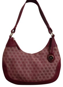 Dooney & Bourke Saddle Monogram And Shoulder Bag