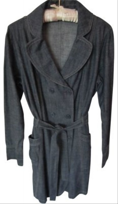 Other Denim Trench Trench Coat
