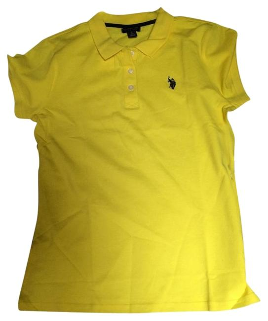 Preload https://item2.tradesy.com/images/us-polo-assn-yellow-tee-shirt-size-12-l-4061521-0-1.jpg?width=400&height=650