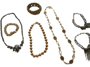 7 piece costume jewelry collection