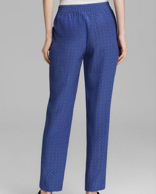 Joie Silk Relaxed Pants Blue