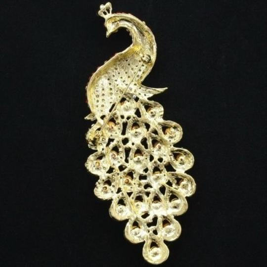 Other Colorful peacock brooch