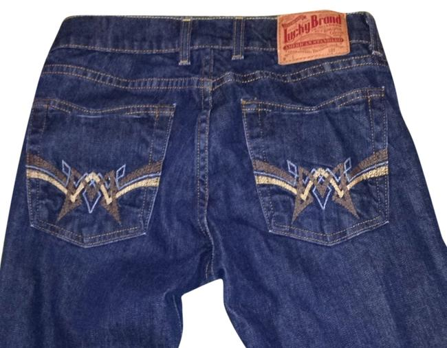 Preload https://item3.tradesy.com/images/lucky-brand-dark-rinse-retro-sundown-boot-cut-jeans-size-27-4-s-4062022-0-0.jpg?width=400&height=650
