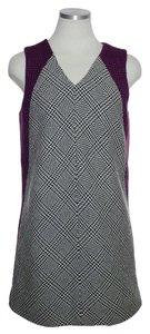 Rag & Bone short dress Gray, Purple Wool Tweed on Tradesy