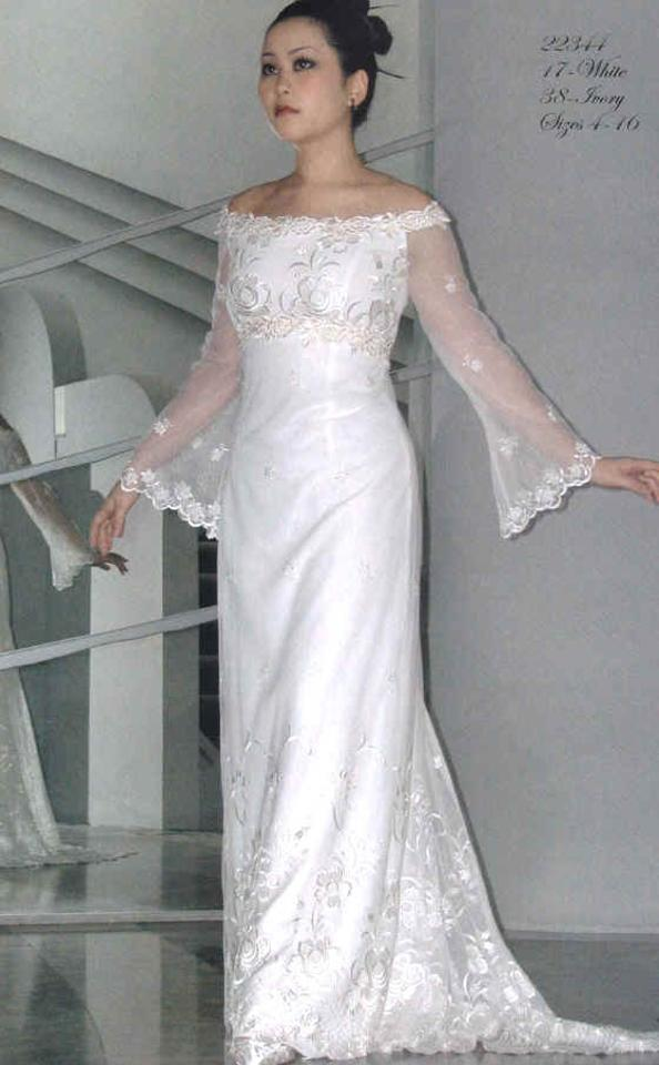 Jessica McClintock Ivory Retro Wedding Dress Size 4 (S) - Tradesy