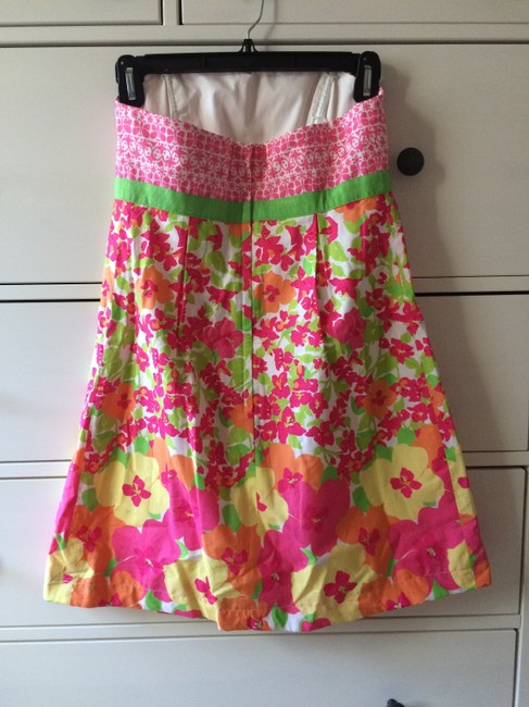 Lilly Pulitzer Strapless Cotton Dress
