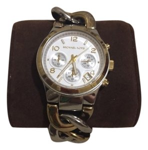 Michael Kors Michael Kors Twist Two-Tone Stainless Steel Watch