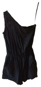 Joie Romper Twill Charcoal Dress