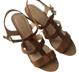 Franco Sarto Tan Sandals
