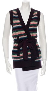 M Missoni Belt Sweater Cardigan Jacket Sweater Vest