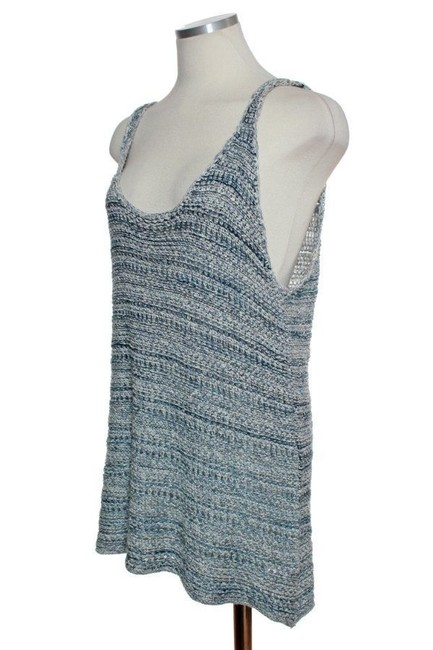 Vince Sweater Sleeveless Top Blue