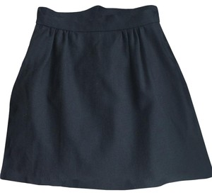 Built By Wendy Designer Wool Mini Skirt Black