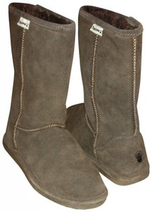 Bearpaw Tall Boot Eva Chocolate / Brown Flats