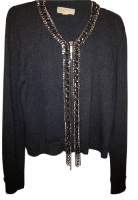 Preload https://img-static.tradesy.com/item/40643/michael-kors-gray-with-chains-this-is-one-fabulous-with-stunning-chain-detail-cardigan-size-16-xl-pl-0-0-650-650.jpg