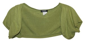 Gabriel New York Lime Cashmere Cardigan