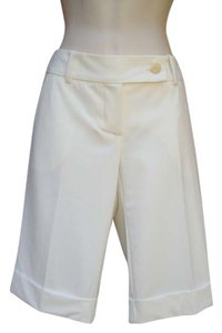 Trina Turk Bermuda Shorts Winter White