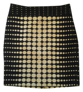 The Limited Skirt Navy Polka dot