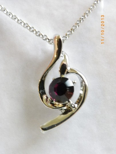 Other AMETHYST TOPAZ crystal PENDANT necklace