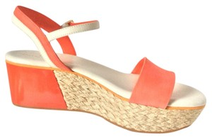 Cole Haan Orange Pop Sandals