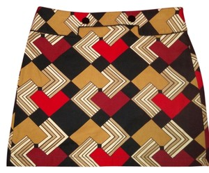 Ann Taylor LOFT Mini Skirt multi