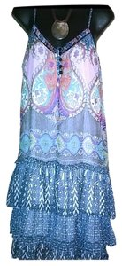 Band of Gypsies short dress Multi Color #bandofgypsies #henlydress on Tradesy
