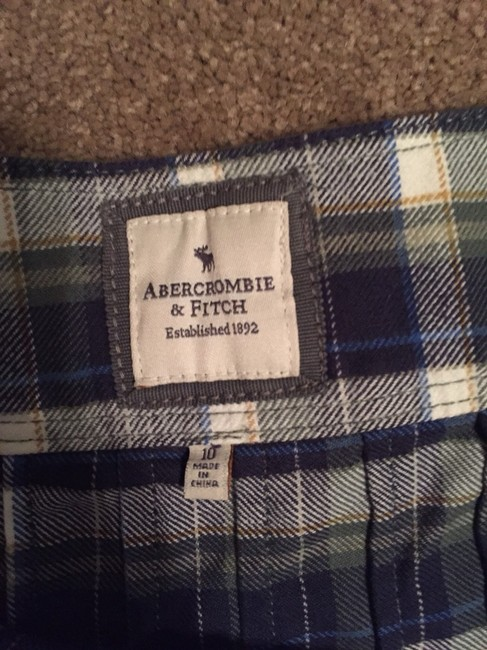 Abercrombie & Fitch Skirt Plaid