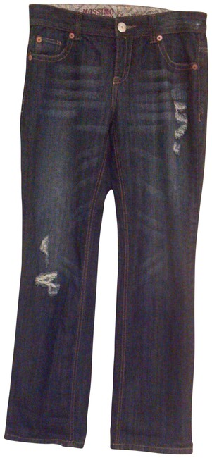 Mossimo Supply Co. Straight Leg Jeans-Medium Wash