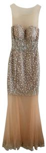 Daniella Couture Pearls Sparkle Embellished Dress