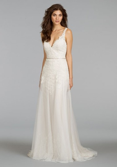 Alvina Valenta Ivory Av9405 Wedding Dress Size 4 (S)
