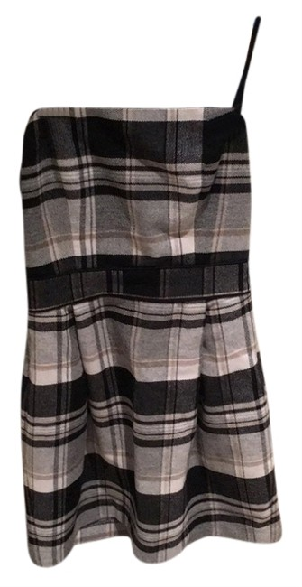 French Connection short dress Grey Multi on Tradesy