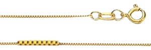 Other 14k Box Chain, Yellow Gold, Elegant, Classy, Pendant Chain, Shiny